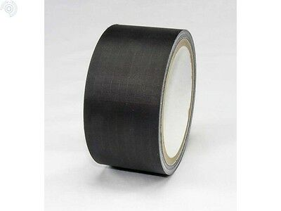 Ripstop Sail Repair Nylon Tape Roll in Black