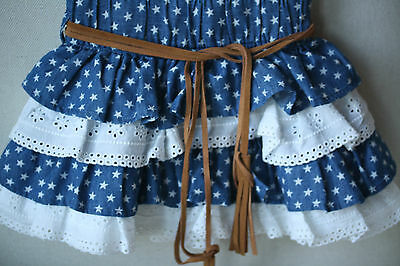 Monnalisa Baby Blue Star Skirt 2 Years