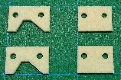 EMCO lathe bed or way wipers, spare replacement parts, FREE SHIPPING!