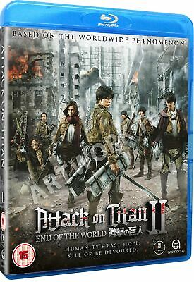 Attack On Titan: Part 2 - End of the World [Blu-ray]
