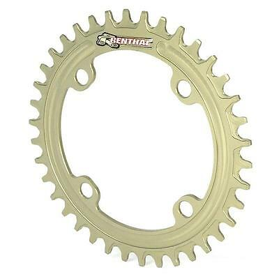 Renthal 1XR Narrow/Wide Chainring 104 BCD Gold - Hard Anodized Enduro Trail 1x11
