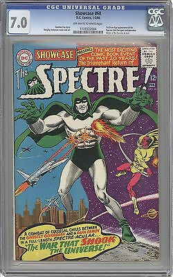 Showcase #60 CGC 7.0 -1st Appearance of Spectre in Silver Age DC Key 1126522004