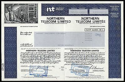 Canada: Northern Telecom Limited (early Nortel Networks)
