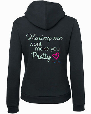**inspire Me***ladies Hoodie..hating Me..all Sizes Avail