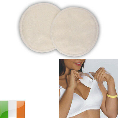 Bamboo Washable Reusable Nursing Breast Pads - Breastfeeding
