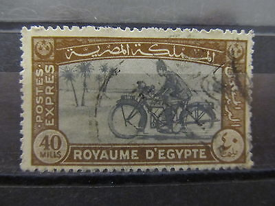A2P30 EGYPT SPECIAL DELIVERY STAMP 1943-44 40m USED #2