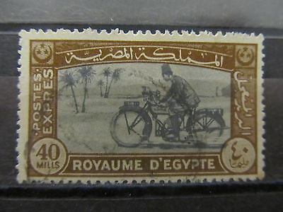 A2P30 EGYPT SPECIAL DELIVERY STAMP 1943-44 40m USED #3