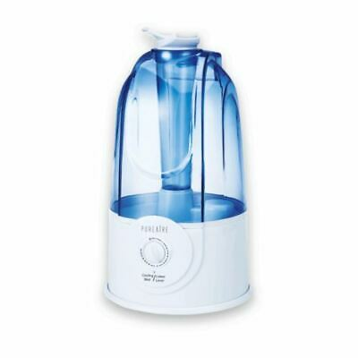 PureAire Ultrasonic Humidifier Variable Spray Control Rate & Direction Auto Off