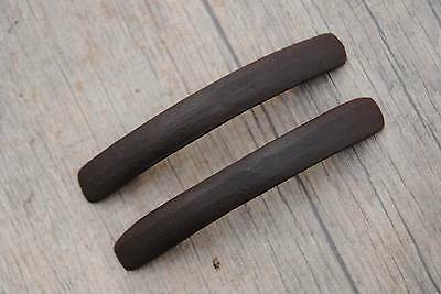 Antique Vintage Cast Iron door cabinet screen handles Pull rustic Victorian 4""