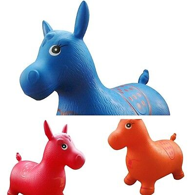 Horse Hopper Space Jump Bounce Outdoor Toy Kids Inflatable Game Garden Bouncing