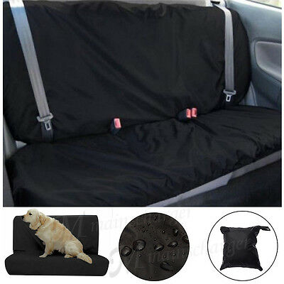 Heavy Duty Water Resistant Car Rear Back Seat Cover Pet Protector Universal Fit