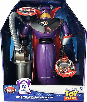"""Toy Story 14"""" Deluxe Talking Zurg Action Figure 14 new phrases by Disney NEW"""