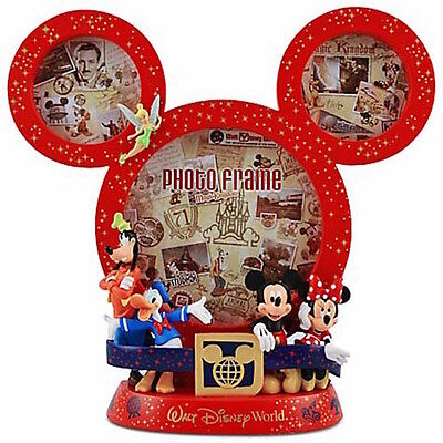 "disney parks 4""x6"" mickey mouse icon wdw collage picture frame new with box"