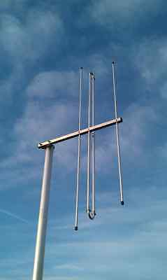 3el 156MHz MARINE BAND Yagi - Increase your Ship-to-shore Coverage!