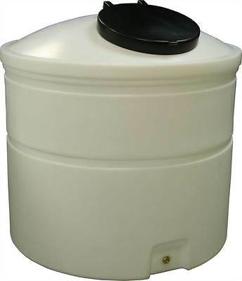 Ecosure 1500 Litre Water Tank Natural No Outlet MDPE Plastic Dia1250mm H1360mm