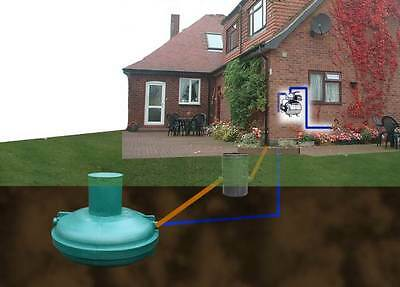 Ecosure 1100 Litre Super Complete Rainwater Harvesting System