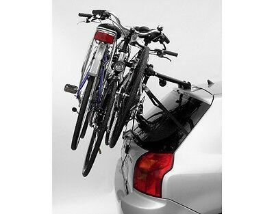 Summit Rear Cycle Carrier 6 Strap 3 Bikes Holder Bicycle Cycling Car Rack Mount