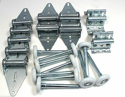 Garage Door Hinge and Roller Tune Up Kit for 16' X 7' and 18' X 7' with Options