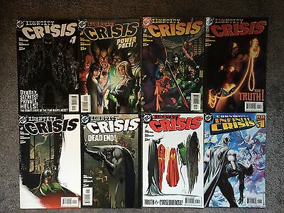 Full Run Of Identity Crisis Comics 1 - 7 And Countdown To Crisis Dc Batman 2004