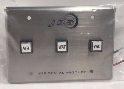 JDS Dental Products Control Panel 3 Buttons Air Water Vacuum