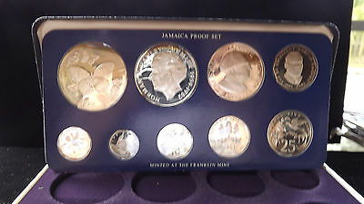 1979 Jamaica Islands Proof Set Complete With Papers And Coa!!!!