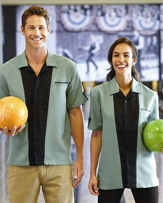 NEW! Hilton - Monterey Unisex Bowling  Shirt - HP2245  Free shipping!