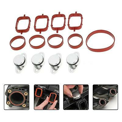 For BMW E46 320d 330d 330xd 330Cd 4Pcs 22mm Diesel Swirl Flap Bungs Gaskets G8P9