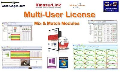 64AAB480 Mitutoyo MeasurLink 15-User License