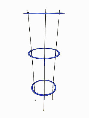 """48"""" Tall Tomato Ring Cage, Galvanized Wire Hydroponics with Connector"""