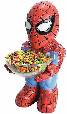 The Amazing Spider-Man Candy Bowl Holder Marvel Comics Brand New Rubies 35690