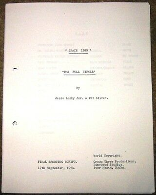 Space 1999 Scripts Alpha Child Collision Course End of Eternity Metamorph & more