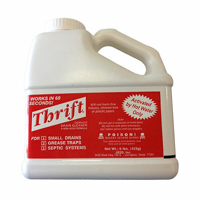 Thrift T-600 6Lb Non-Acid Pipe & Drain Cleaner