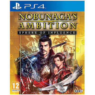 Nobunaga's Ambition Video Game For Sony PS4 Games Console New Brand Sealed