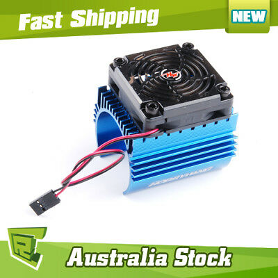 86080130 Hobby Wing 5V Cooling Fan Combo C4 for 44 Brushless Motor w/ heat Sink