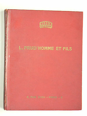 Catalogue Outillage  ELPEX  PRUD'HOMME   outil garage  auto brochure propectus