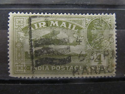 A2P30 INDIA AIR POST STAMP 1929-30 4a USED #1