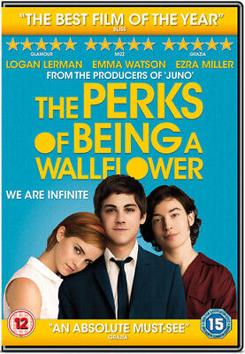 The Perks of Being a Wallflower DVD (2013) Emma Watson
