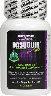 Nutramax Dasuquin Pet Joint Health Supplement Cats 84 Capsules Exp. 03/2020