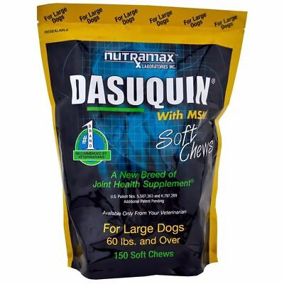 Nutramax Dasuquin 150 Soft Chews With MSM Large Dogs Joint Health
