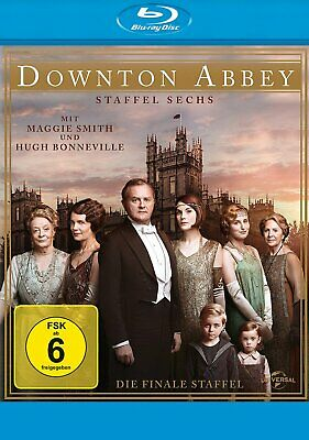 Downton Abbey - Die komplette Season/Staffel 6 # 3-BLU-RAY-BOX-NEU