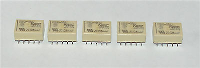 Relay Eb2-5Nu Nec Tokin Double Pole Changeover 5V Surface Mount Dpco - 5 Pieces