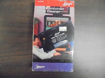Allegro VCR/Camcorder Head Cleaner Wet Tape