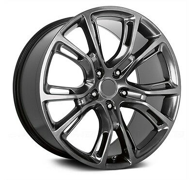 20 Inch Apec Srt Shadow Chrome Jeep Grand Cherokee Tyre Package Deal