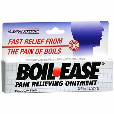 Boil Ease Pain Relieving Ointment 1 oz