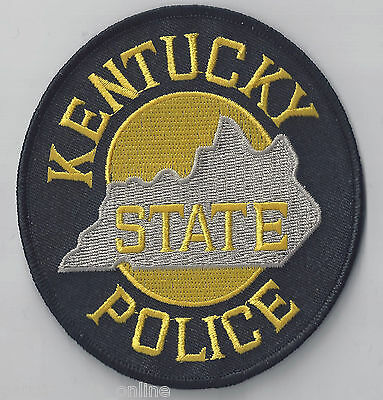Kentucky State Police - Shoulder Iron / Sew On Patch