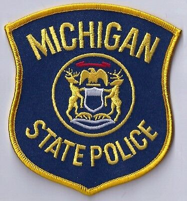 Michigan State Police - Shoulder Iron / Sew On Patch