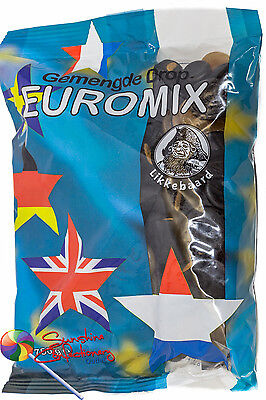 EUROMIX - DUTCH LICORICE MIX -  750G  - IMPORTED SWEETS (Gemengde Drop)