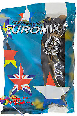 EUROMIX - (Gemengde Drop) DUTCH LICORICE MIX -  750G  - IMPORTED Licorice