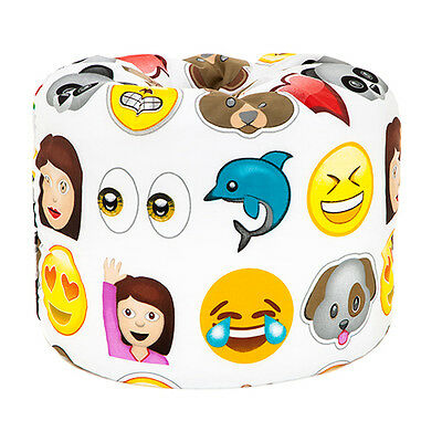 Emoji Emoticons Children's Bean Playroom Kids Bedroom Furniture Seat Beanbag