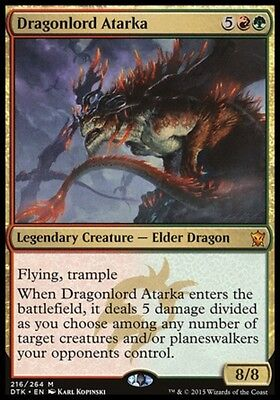 SIGNORE DEI DRAGHI ATARKA - DRAGONLORD ATARKA Magic DTK Mint